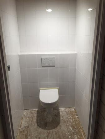 wc renovatie